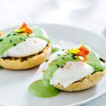 Matcha Eggs Benedict