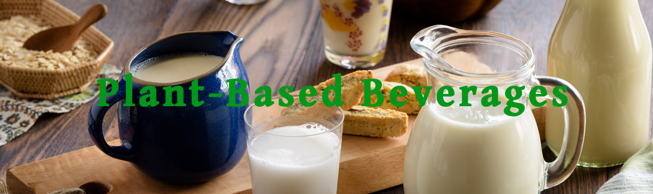 premium food + beverages products - Plant Based Beverages