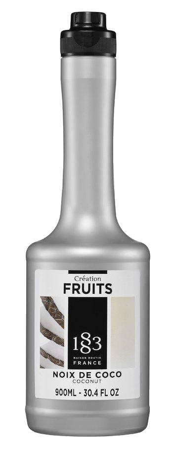 coconut fruit puree