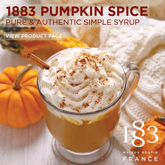 pumpkin spice 1883 syrup