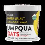 Organic Banana Walnut umpqua oats