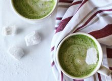 Matcha Peppermint Latte