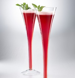 Berries & Basil Martini